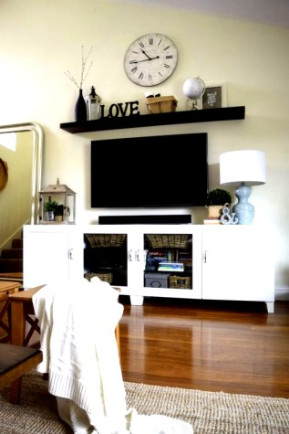 Incredible Diy Entertainment Center Design Ideas That Look More Comfort10