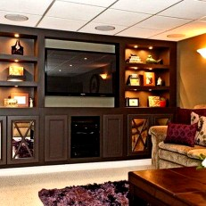 Incredible Diy Entertainment Center Design Ideas That Look More Comfort19