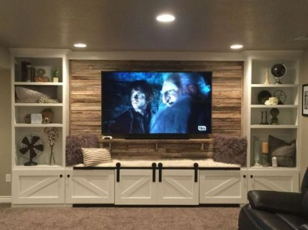 Incredible Diy Entertainment Center Design Ideas That Look More Comfort26