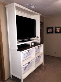 Incredible Diy Entertainment Center Design Ideas That Look More Comfort29