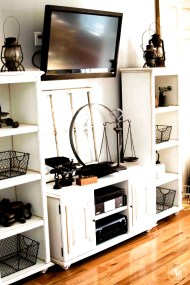 Incredible Diy Entertainment Center Design Ideas That Look More Comfort32