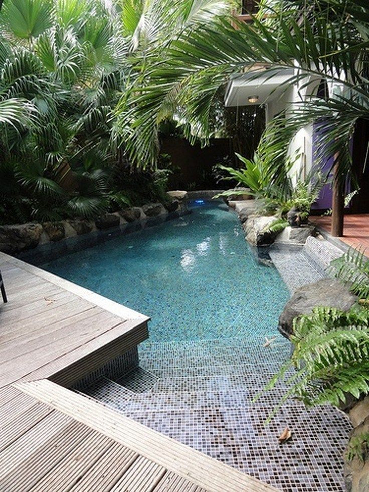 Inspiring Small Backyard Pool Design Ideas For Your Relaxing Place04