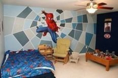 Latest Kids Bedroom Design Ideas With Spiderman Themes10