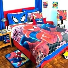 Latest Kids Bedroom Design Ideas With Spiderman Themes13