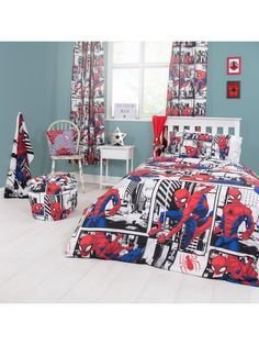 Latest Kids Bedroom Design Ideas With Spiderman Themes14
