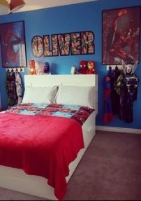 Latest Kids Bedroom Design Ideas With Spiderman Themes27