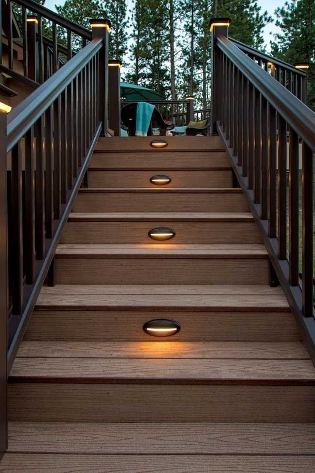 Lovely Deck Lighting Design Ideas For Cozy And Romantic Nuances At Night22
