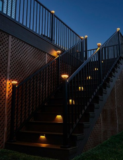 Lovely Deck Lighting Design Ideas For Cozy And Romantic Nuances At Night34