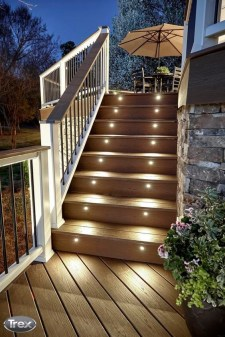 Lovely Deck Lighting Design Ideas For Cozy And Romantic Nuances At Night37