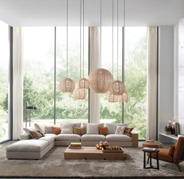 Magnificient Lighting Design Ideas For Stunning Living Room Décor26