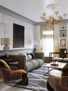 Magnificient Lighting Design Ideas For Stunning Living Room Décor28
