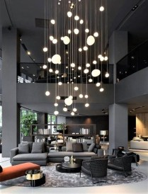 Magnificient Lighting Design Ideas For Stunning Living Room Décor31