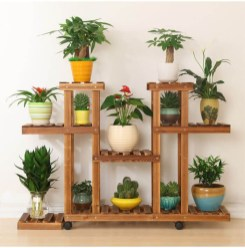 Newest Flower Shelf Design Ideas That Will Amaze You21