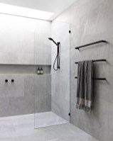 Stunning Black Bathroom Shower Design Ideas That You Need To Copy01