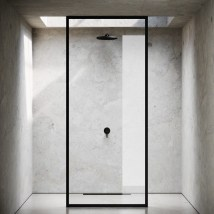 Stunning Black Bathroom Shower Design Ideas That You Need To Copy21