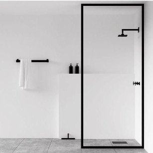 Stunning Black Bathroom Shower Design Ideas That You Need To Copy31