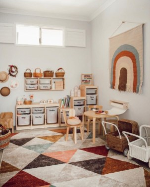 Trendy Kids Playroom Design Ideas To Try This Year06