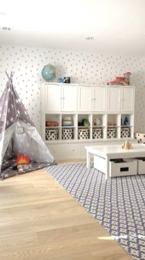 Trendy Kids Playroom Design Ideas To Try This Year07