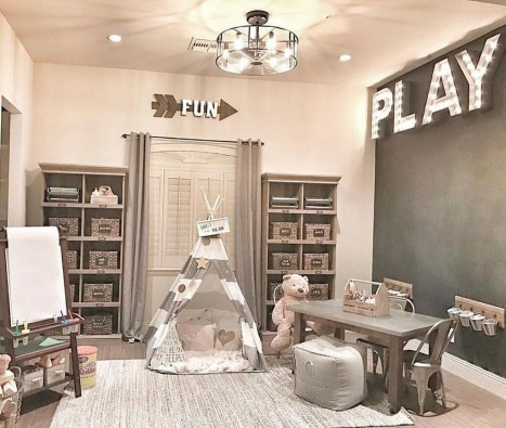 Trendy Kids Playroom Design Ideas To Try This Year16