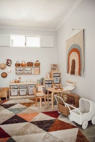 Trendy Kids Playroom Design Ideas To Try This Year33