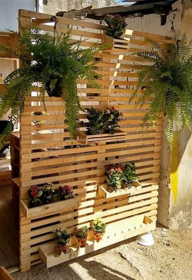 Unordinary Wooden Pallet Furniture Ideas That Is Easy For You To Make21