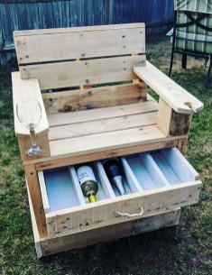 Unordinary Wooden Pallet Furniture Ideas That Is Easy For You To Make26