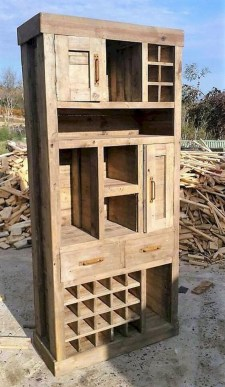 Unordinary Wooden Pallet Furniture Ideas That Is Easy For You To Make32