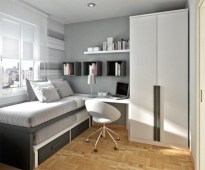 Unusual Small Bedroom Design Ideas For A Narrow Space03