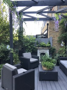 Wonderful Outdoor Living Room Design Ideas For Enjoying Your Days01
