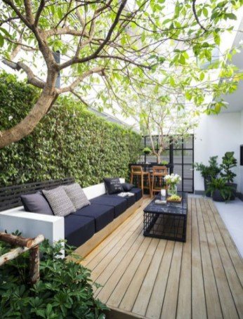 Wonderful Outdoor Living Room Design Ideas For Enjoying Your Days33