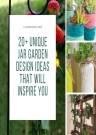 20+ Unique Jar Garden Design Ideas That Will Inspire You Vv