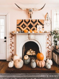 Affordable Fall Home Design Ideas On Budget 29