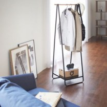 Awesome Diy Small Bedroom Design Ideas With Close Clothing Rack 03
