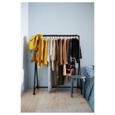 Awesome Diy Small Bedroom Design Ideas With Close Clothing Rack 23