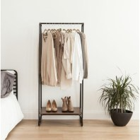 Awesome Diy Small Bedroom Design Ideas With Close Clothing Rack 35