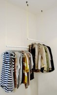 Awesome Diy Small Bedroom Design Ideas With Close Clothing Rack 39