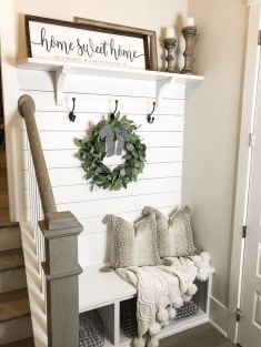 Awesome Farmhouse Mudroom Decorating Ideas To Try Asap 10
