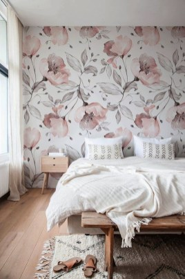 Best Bedroom Wallpaper Decor Ideas That Suitable For Your Family 18