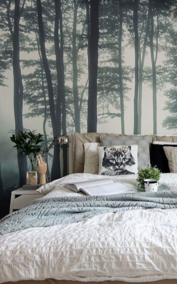 Best Bedroom Wallpaper Decor Ideas That Suitable For Your Family 35
