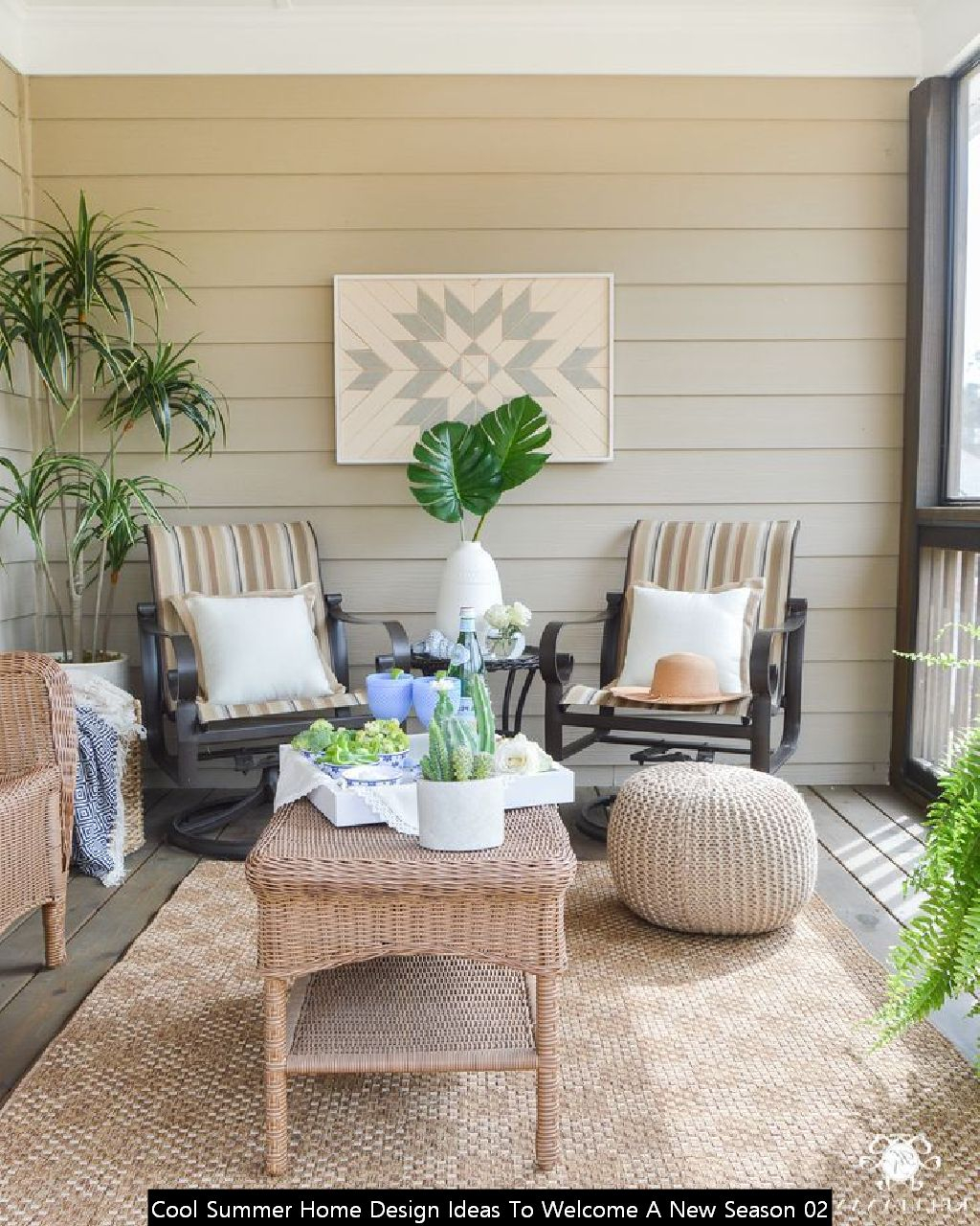 Cool Summer Home Design Ideas To Welcome A New Season 02