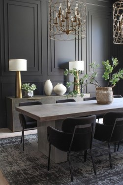 Elegant Dining Room Design Ideas That Will Amaze You 21