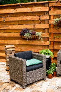 Enchanting Living Fences Design Ideas That Suitable For Your Yard 31