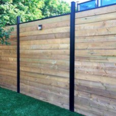Enchanting Living Fences Design Ideas That Suitable For Your Yard 39