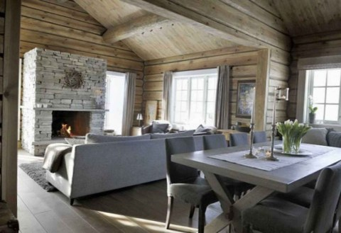 Impressive Spacious Chalet Design Ideas With Warm And Cosy Ambience 17