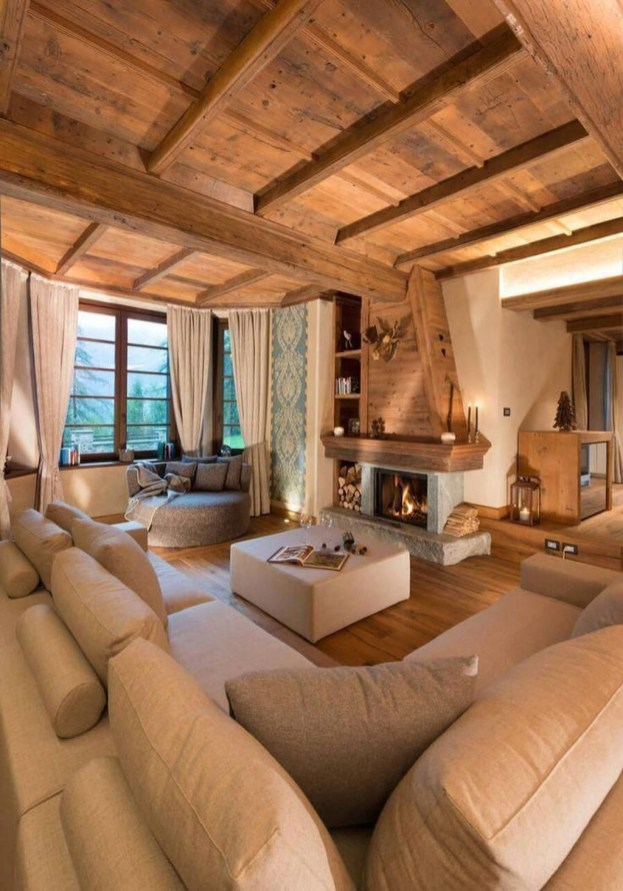 Impressive Spacious Chalet Design Ideas With Warm And Cosy Ambience 41
