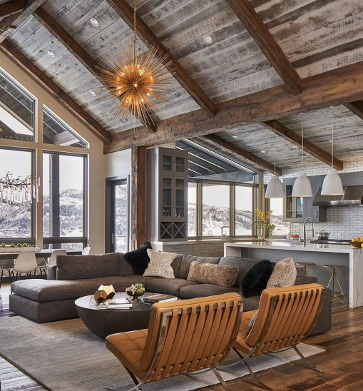 Impressive Spacious Chalet Design Ideas With Warm And Cosy Ambience 43