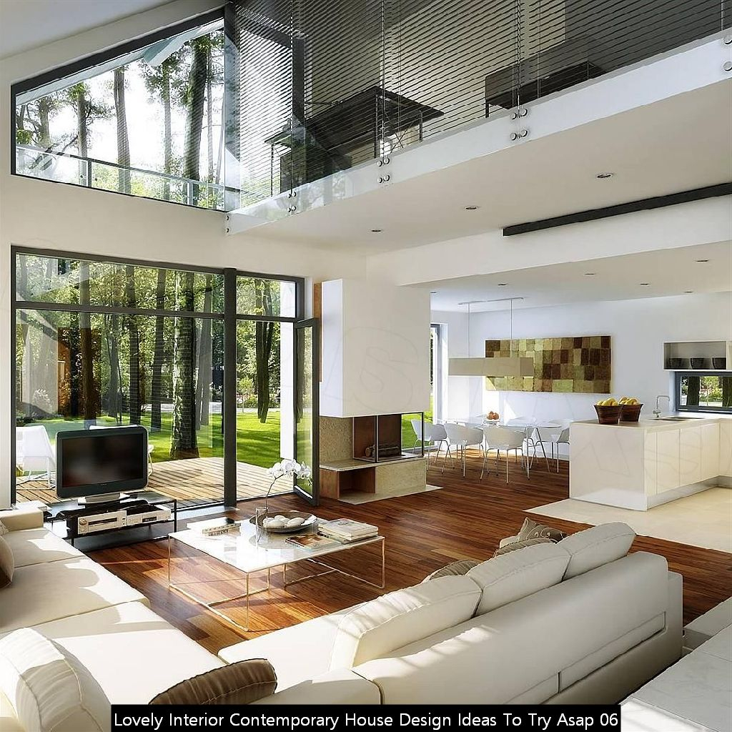 Lovely Interior Contemporary House Design Ideas To Try Asap 06
