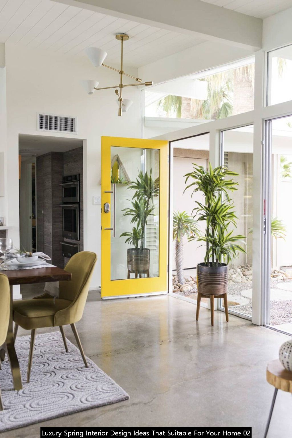 Luxury Spring Interior Design Ideas That Suitable For Your Home 02