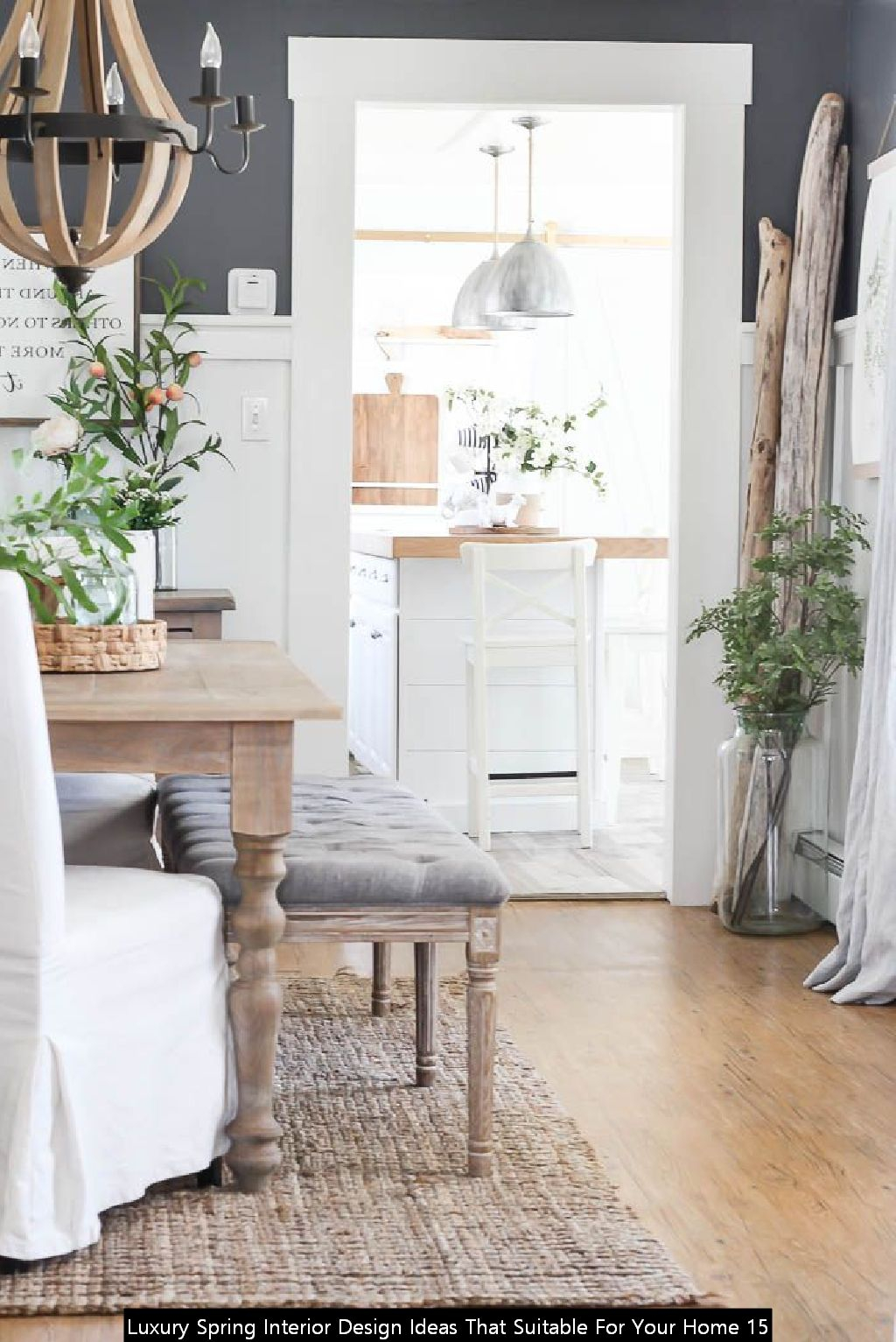 Luxury Spring Interior Design Ideas That Suitable For Your Home 15
