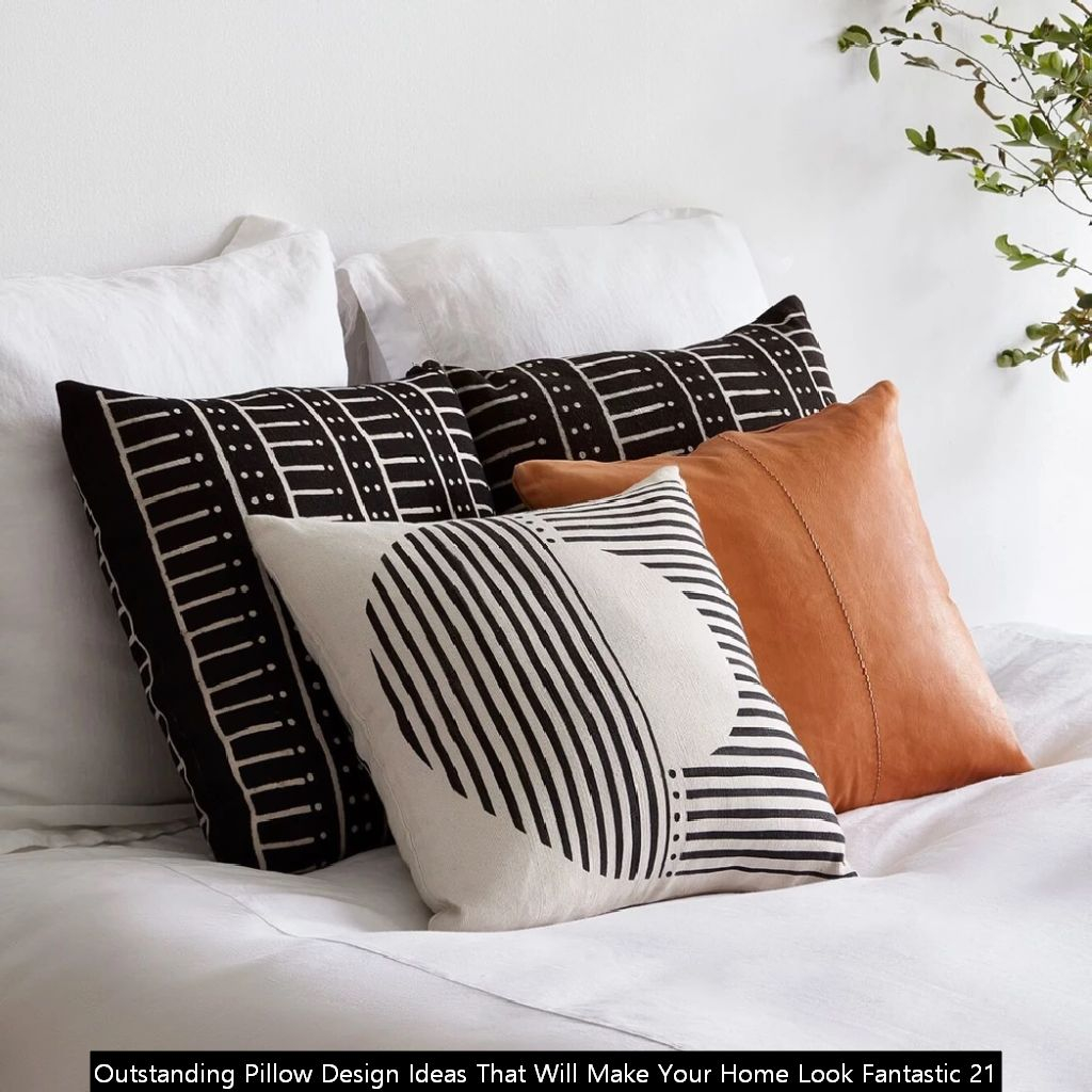 Outstanding Pillow Design Ideas That Will Make Your Home Look Fantastic 21